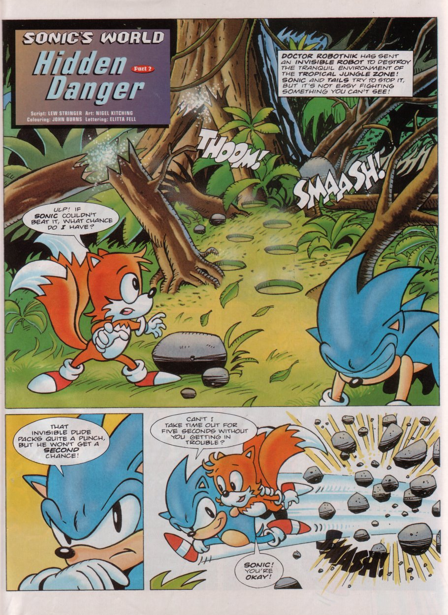 Sonic - The Comic Issue No. 078 Page 25