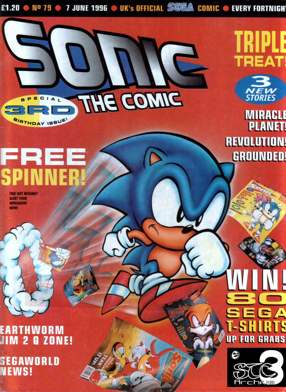 Sonic - The Comic Issue No. 079 Comic cover page
