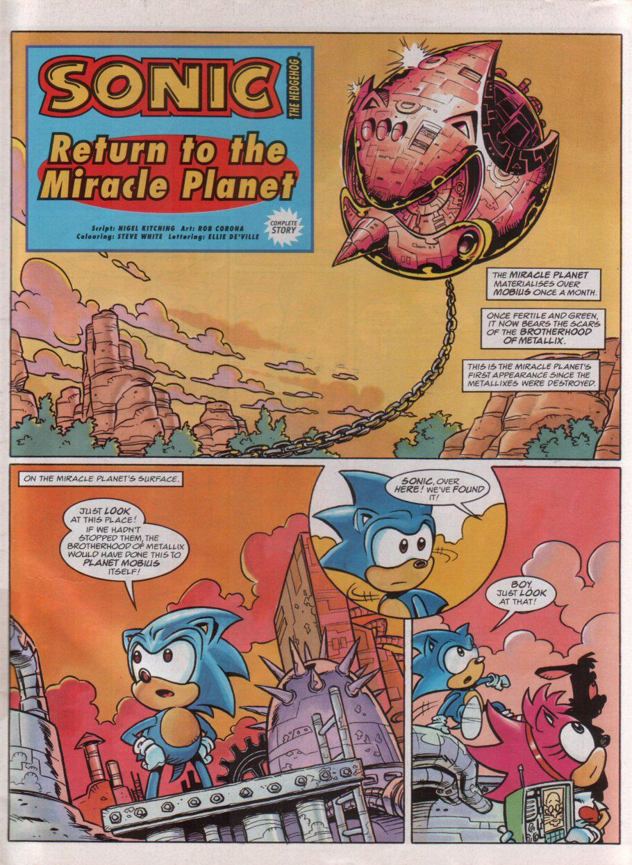 Sonic - The Comic Issue No. 079 Page 2