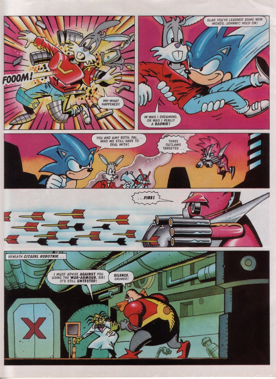 Sonic - The Comic Issue No. 081 Page 28