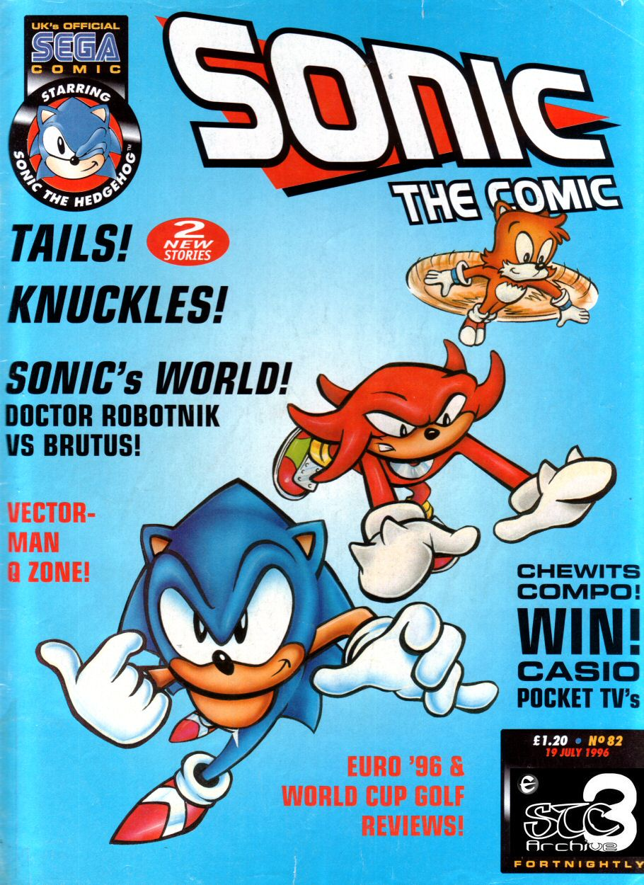 Sonic - The Comic Issue No. 082 Comic cover page