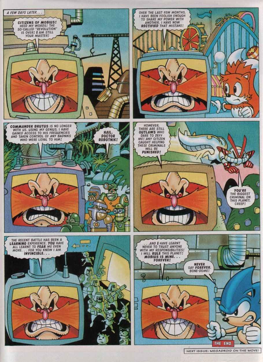 Sonic - The Comic Issue No. 082 Page 29