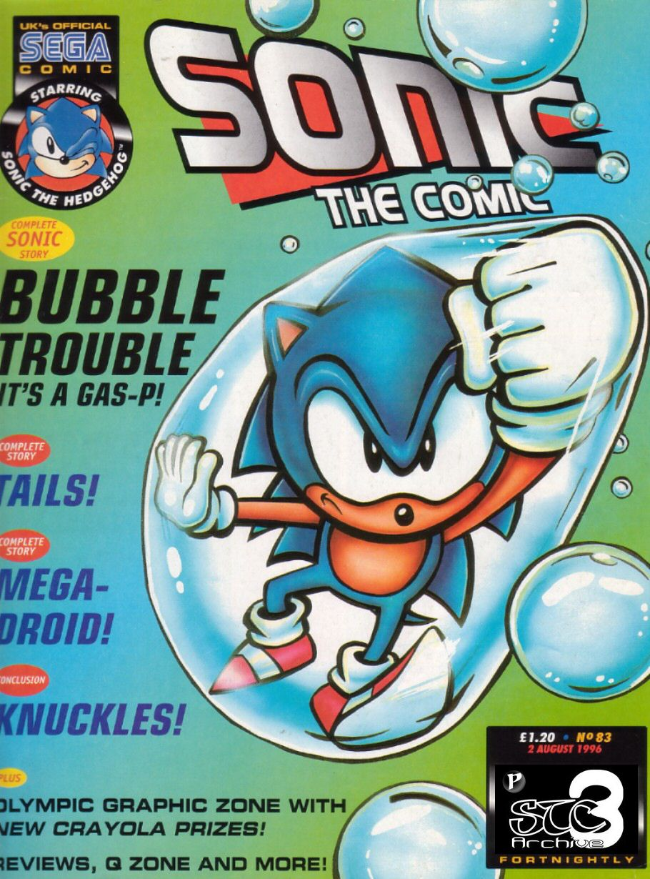 Sonic - The Comic Issue No. 083 Comic cover page