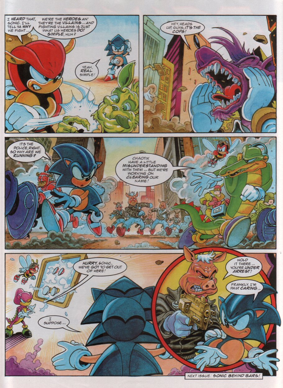 Sonic - The Comic Issue No. 084 Page 8
