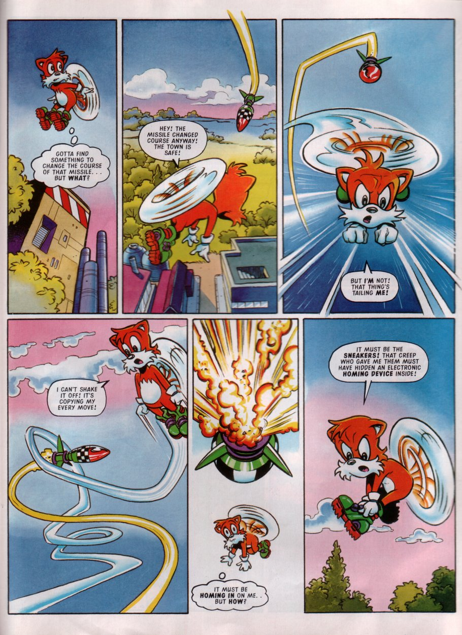 Sonic - The Comic Issue No. 084 Page 20