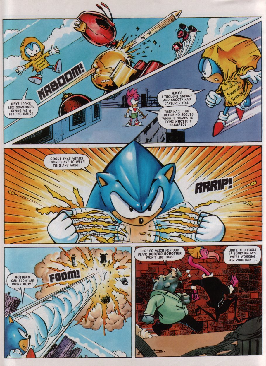 Sonic - The Comic Issue No. 084 Page 28
