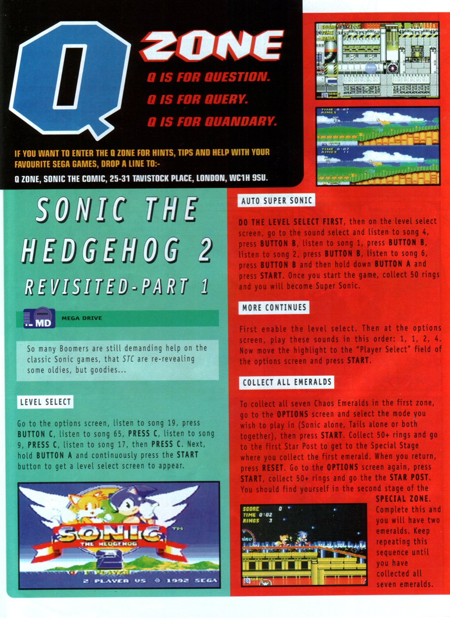 Sonic - The Comic Issue No. 086 Page 21