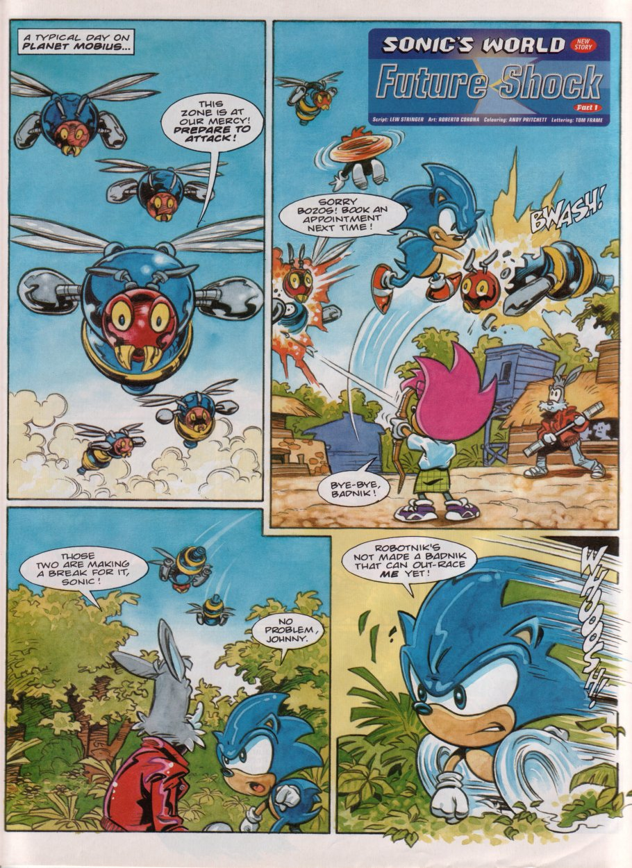 Sonic - The Comic Issue No. 086 Page 24