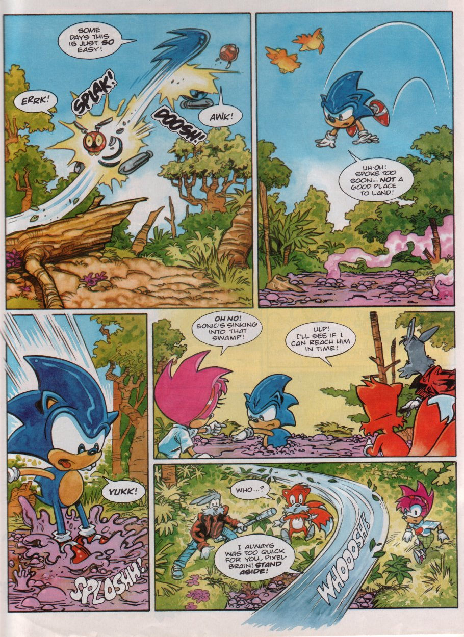 Sonic - The Comic Issue No. 086 Page 25