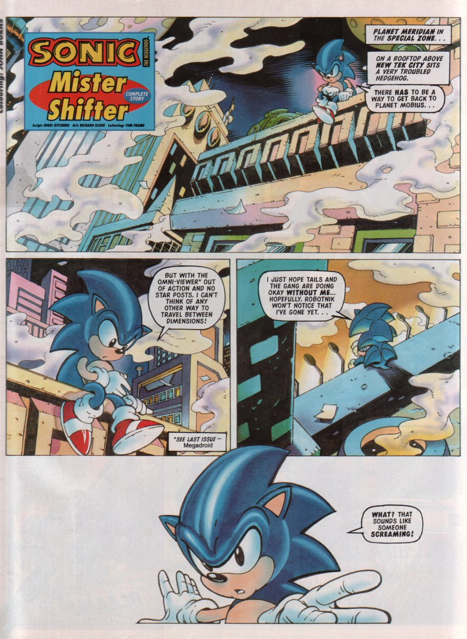 Sonic - The Comic Issue No. 087 Page 2