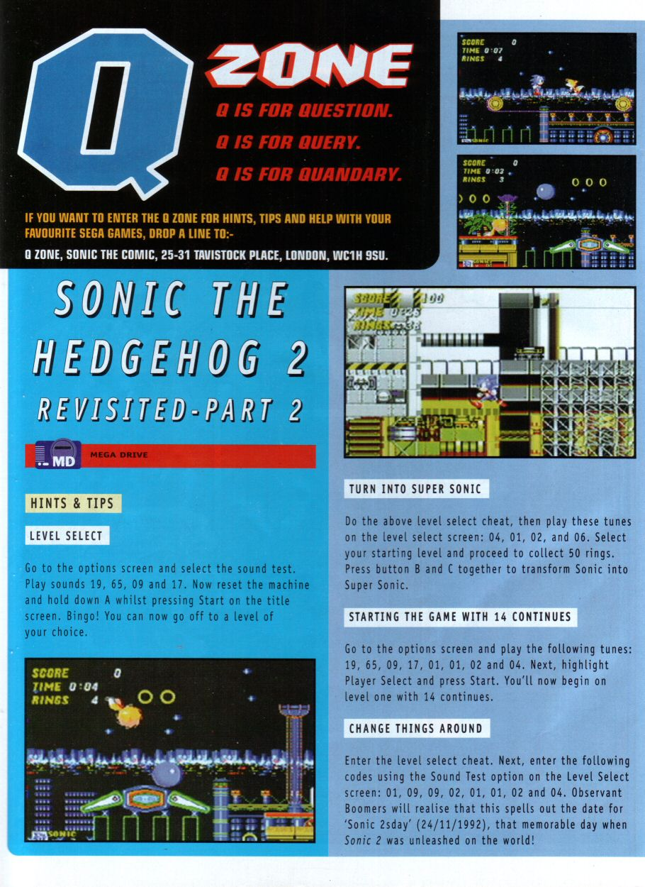 Sonic - The Comic Issue No. 087 Page 23