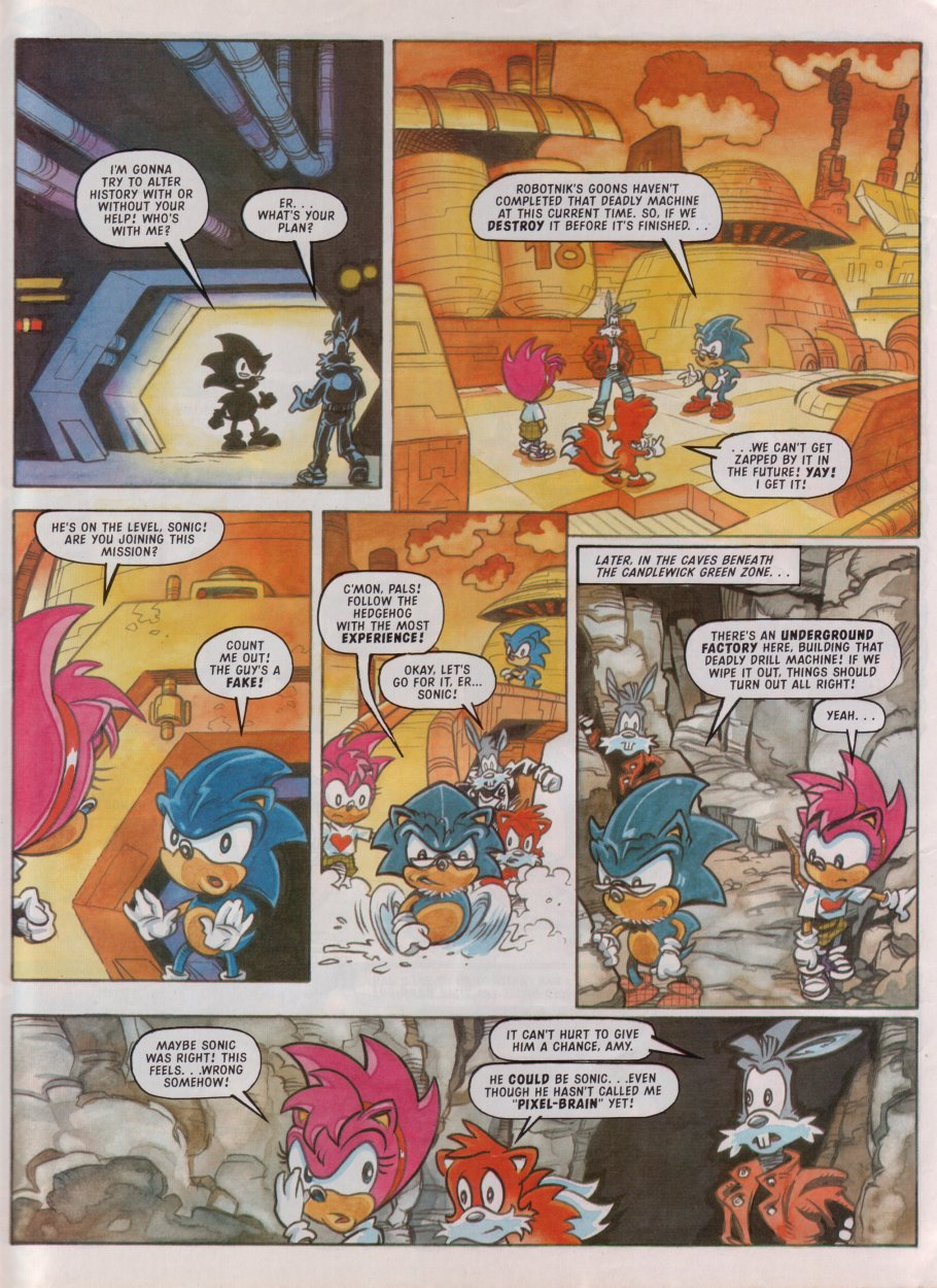 Sonic - The Comic Issue No. 087 Page 28