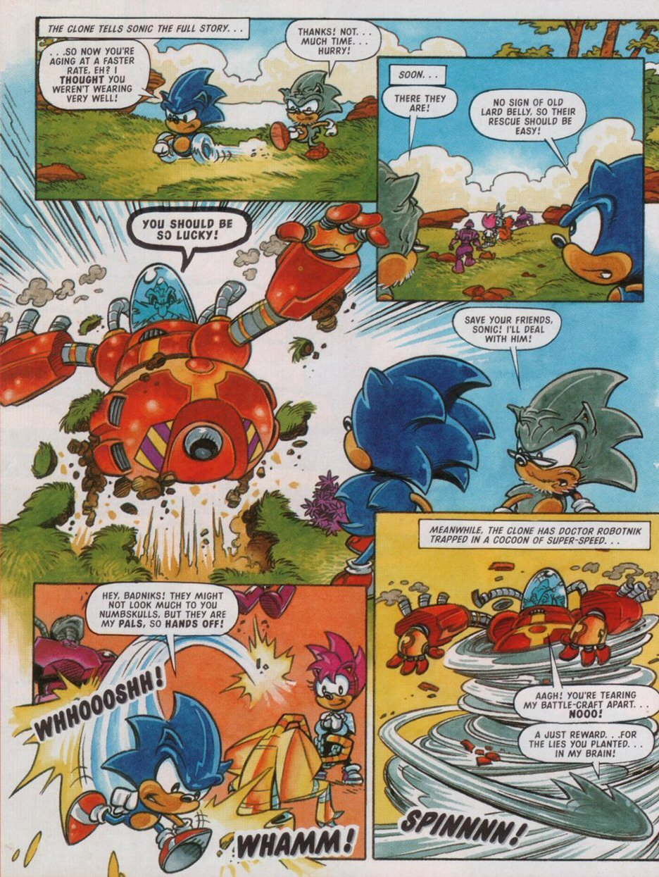 Sonic - The Comic Issue No. 088 Page 29