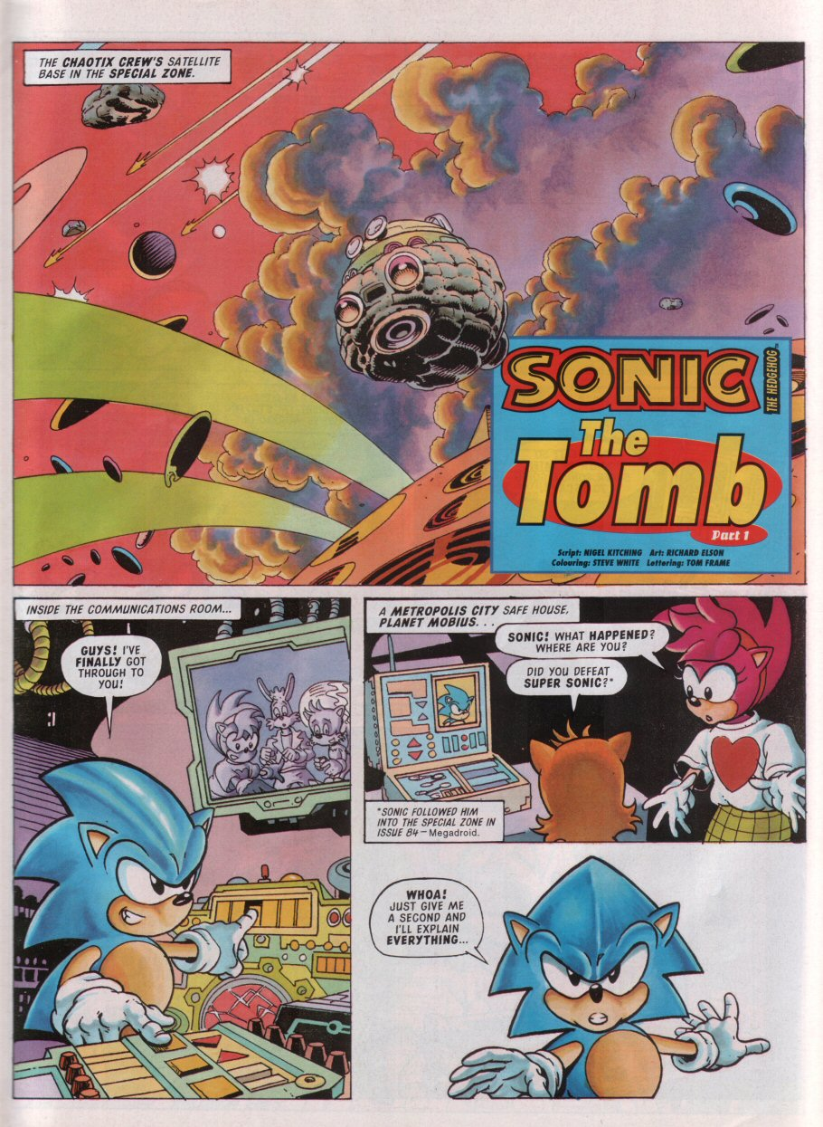 Sonic - The Comic Issue No. 089 Page 2