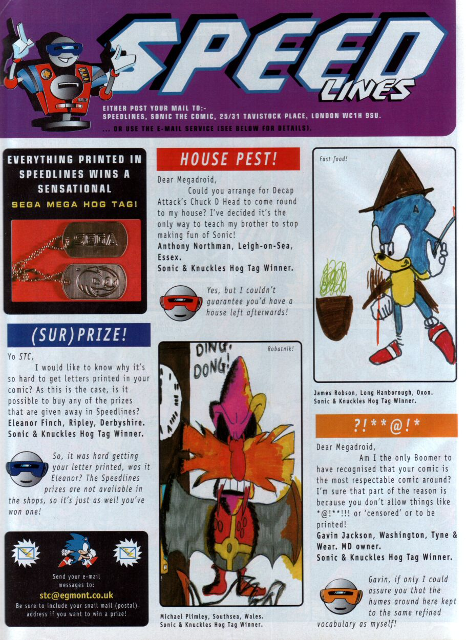 Sonic - The Comic Issue No. 089 Page 29