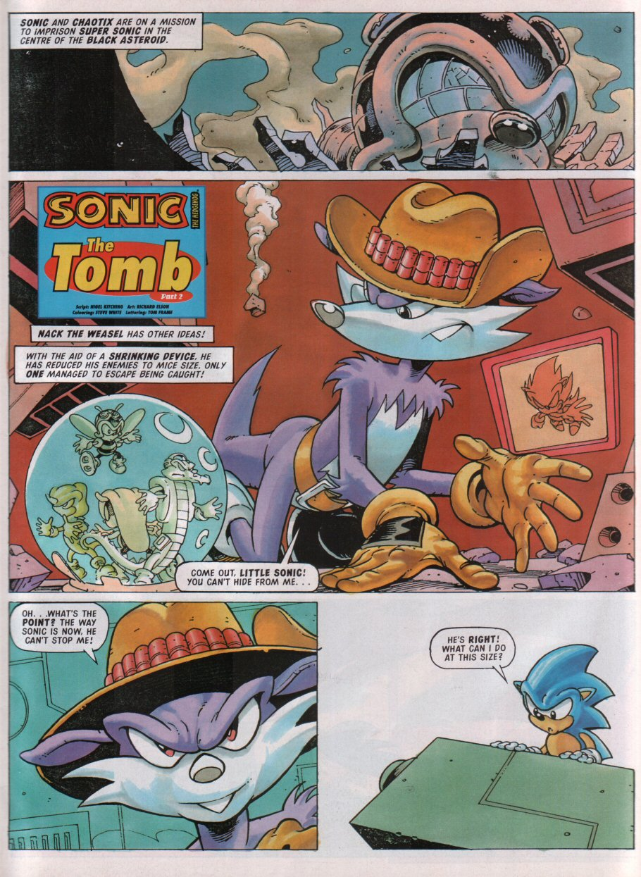 Sonic - The Comic Issue No. 090 Page 2