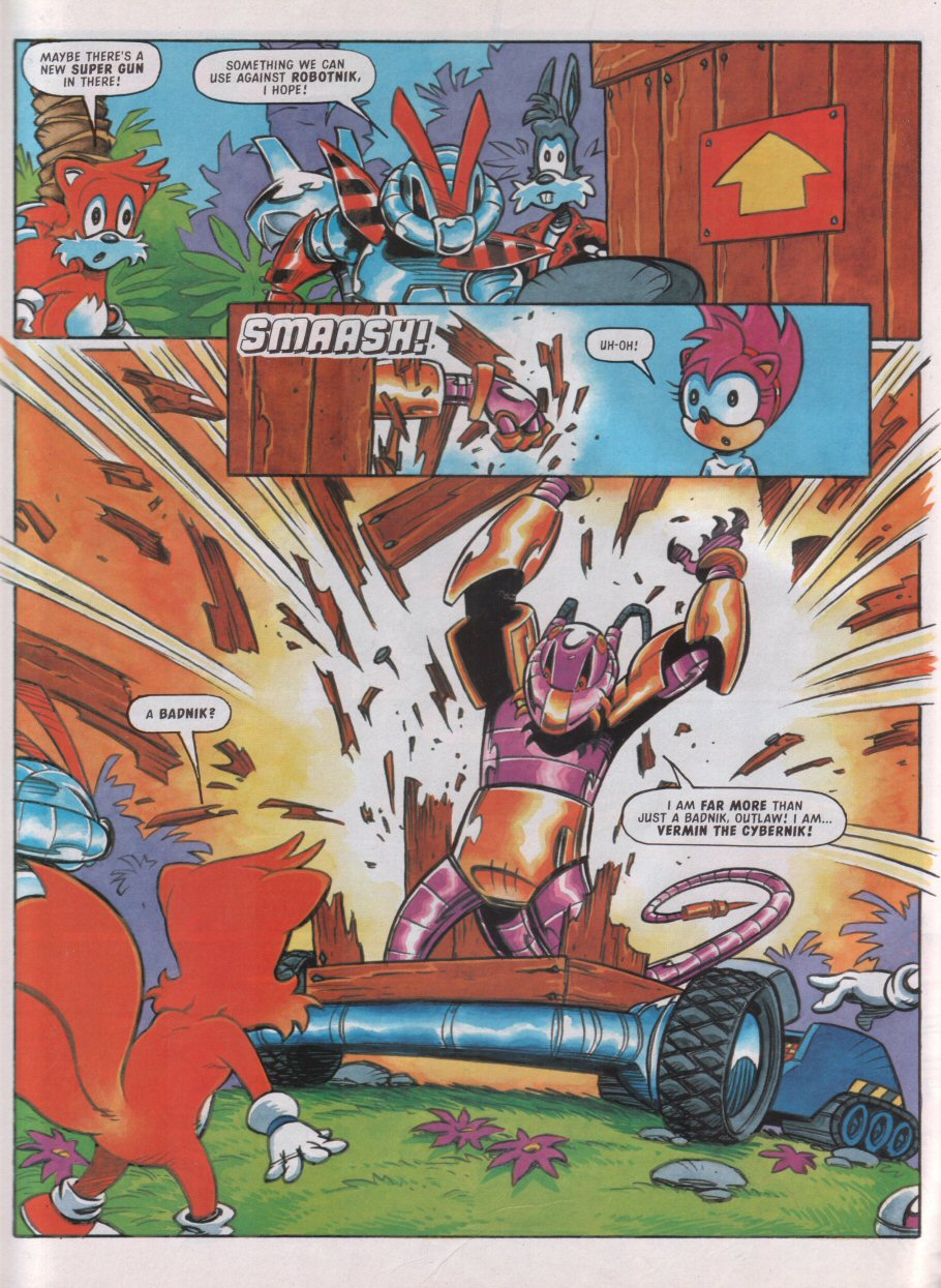 Sonic - The Comic Issue No. 090 Page 25