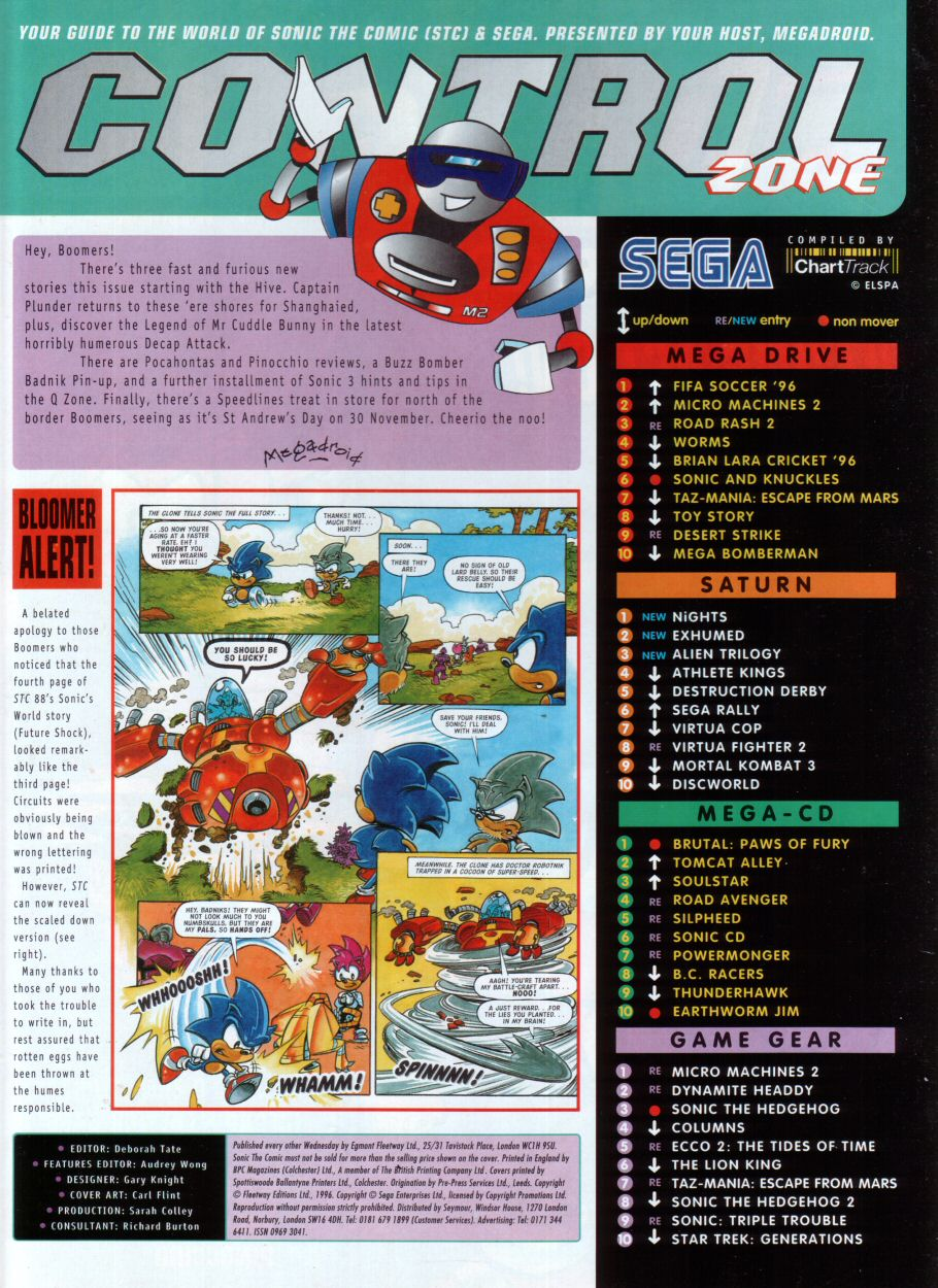 Sonic - The Comic Issue No. 091 Page 1