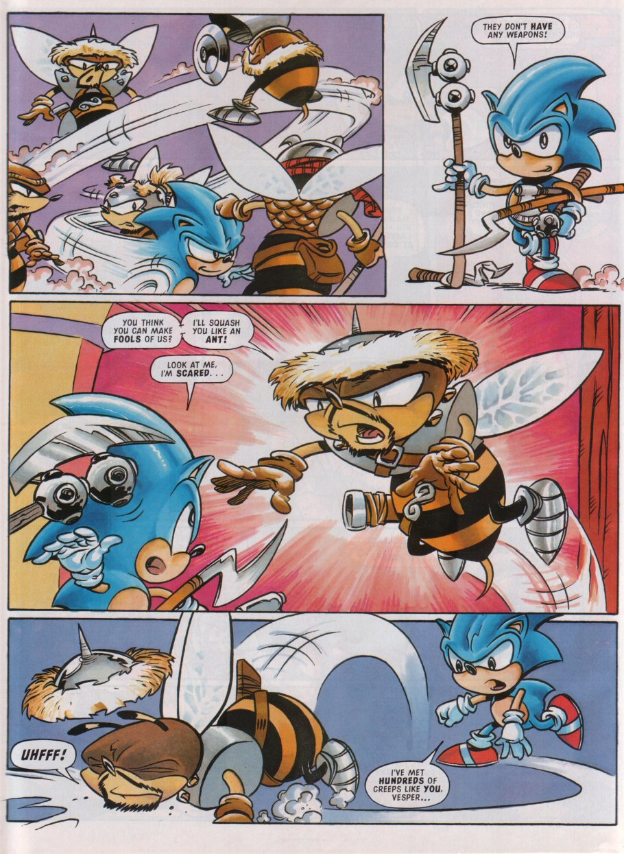 Sonic - The Comic Issue No. 092 Page 5