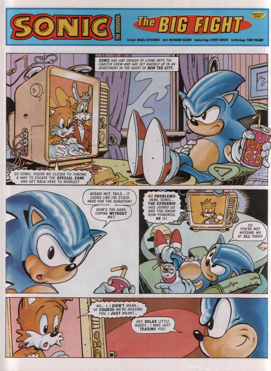 Sonic - The Comic Issue No. 095 Page 2