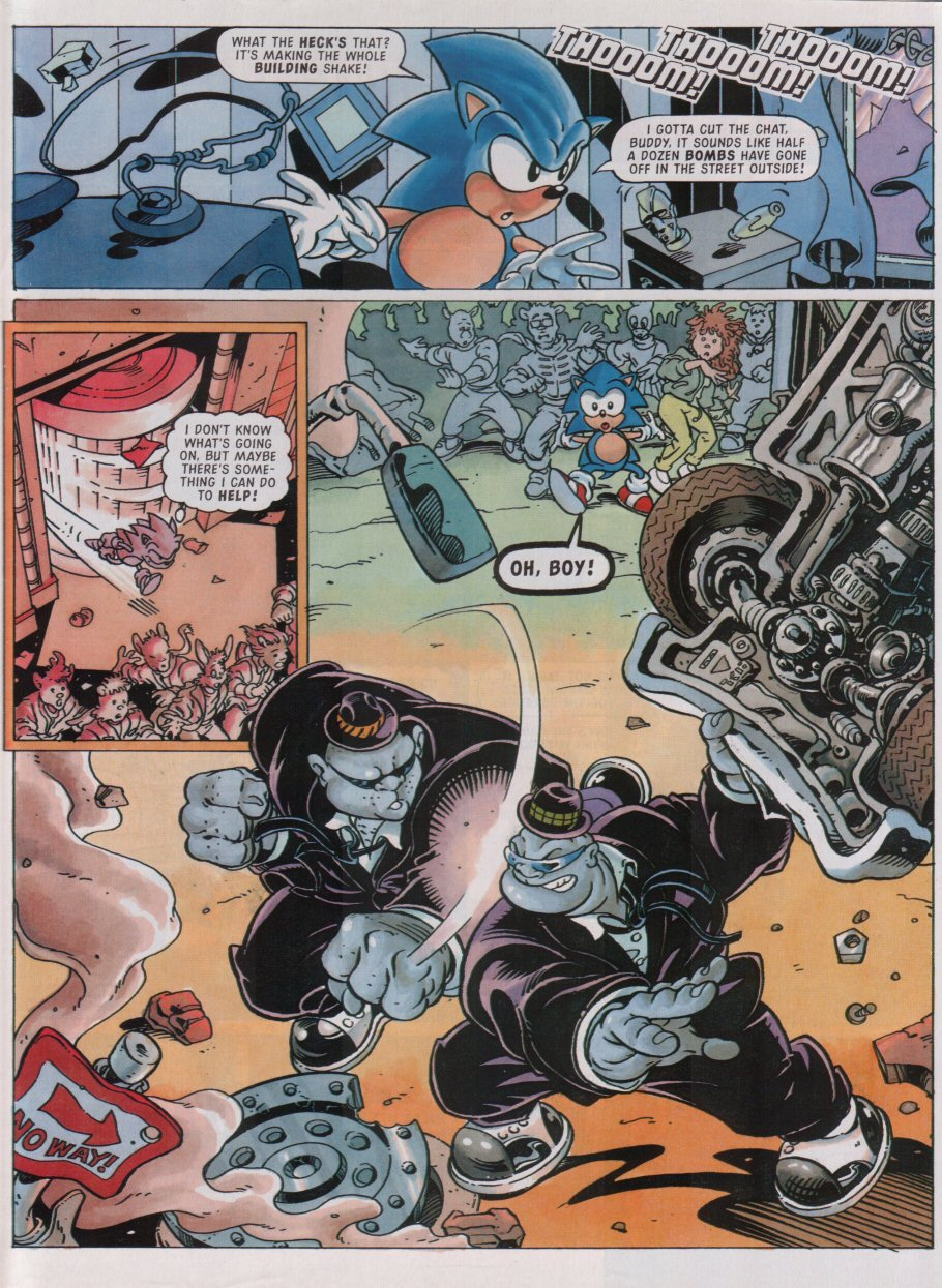 Sonic - The Comic Issue No. 095 Page 3