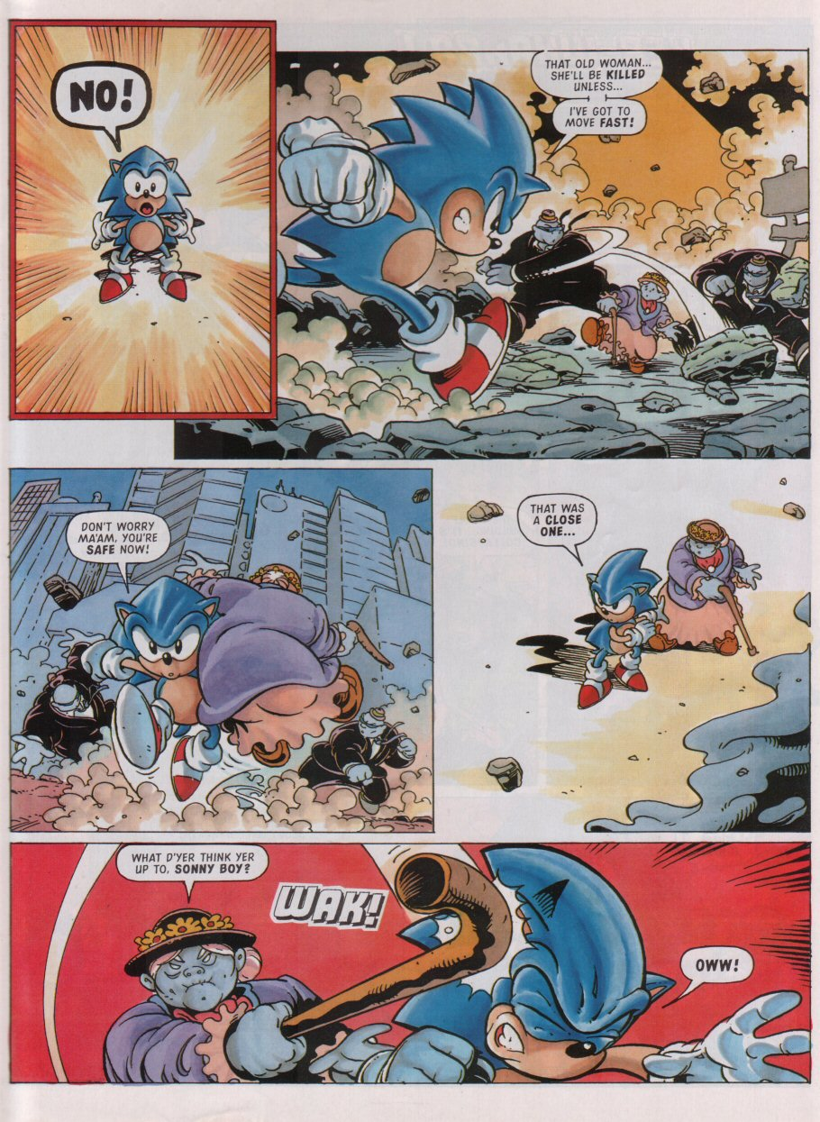 Sonic - The Comic Issue No. 095 Page 7