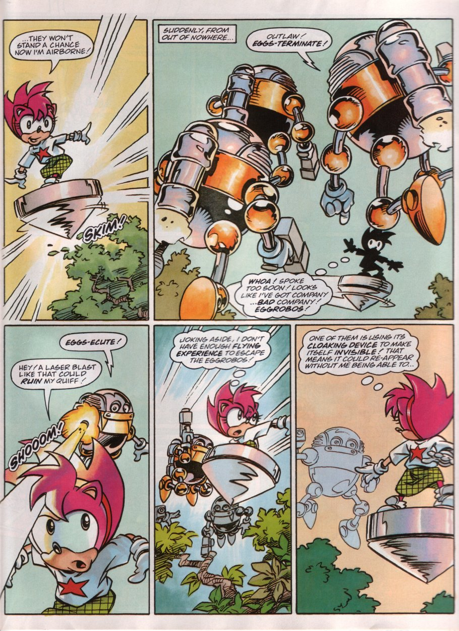 Sonic - The Comic Issue No. 095 Page 17
