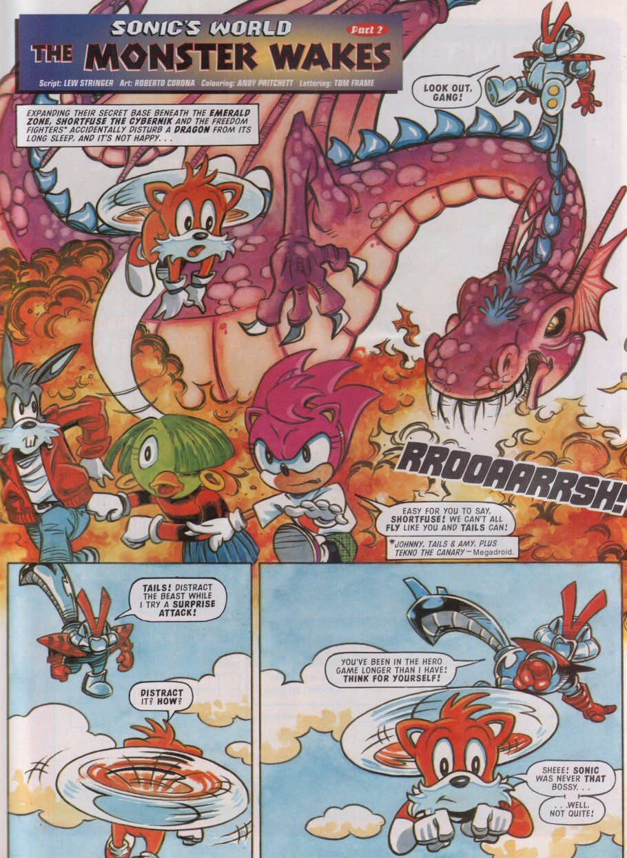 Sonic - The Comic Issue No. 095 Page 21
