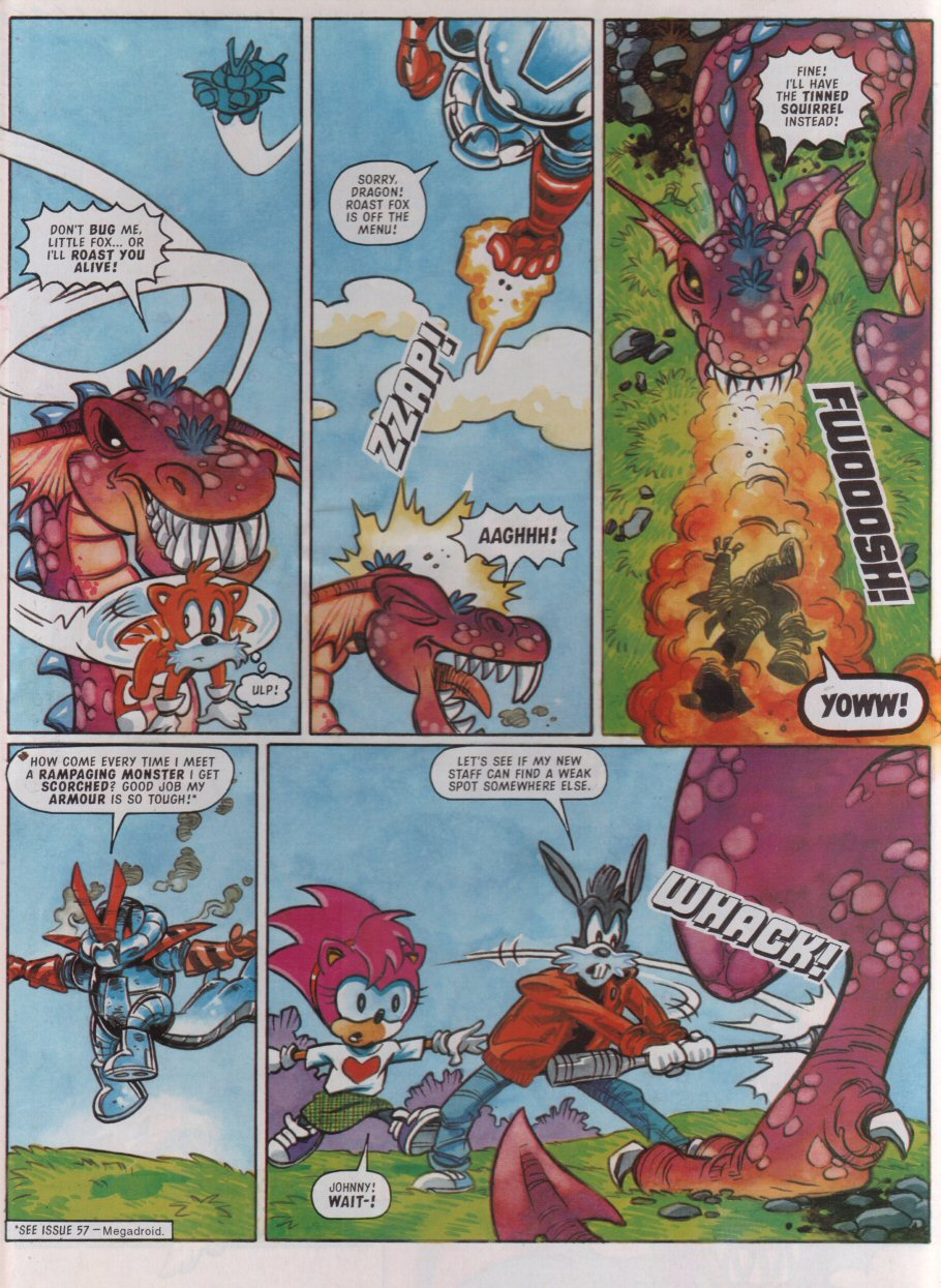 Sonic - The Comic Issue No. 095 Page 22