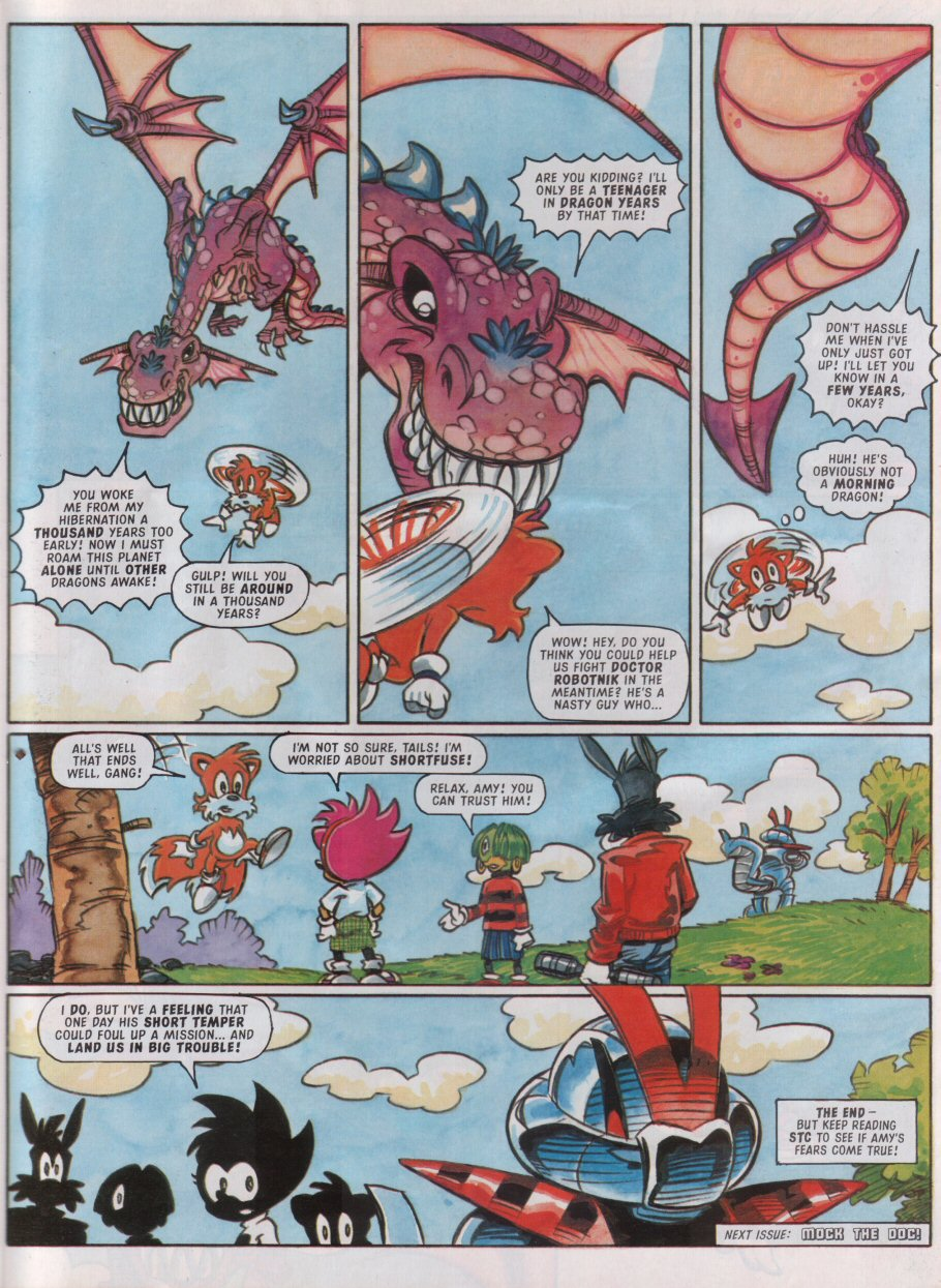 Sonic - The Comic Issue No. 095 Page 25