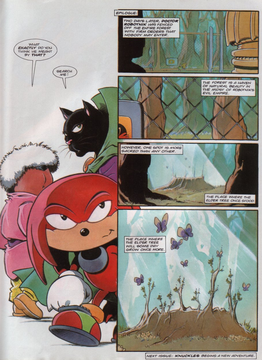 Sonic - The Comic Issue No. 096 Page 14