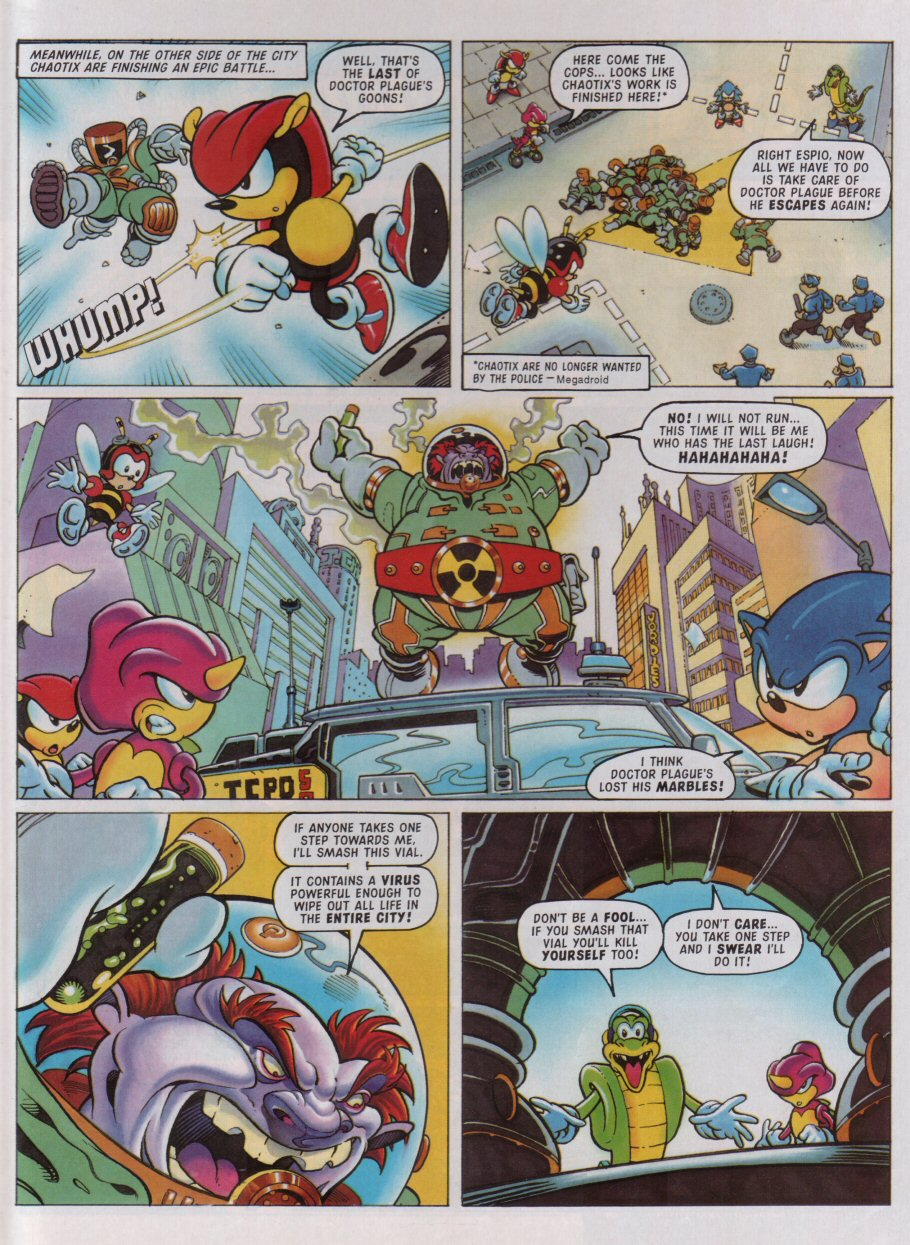 Sonic - The Comic Issue No. 097 Page 3