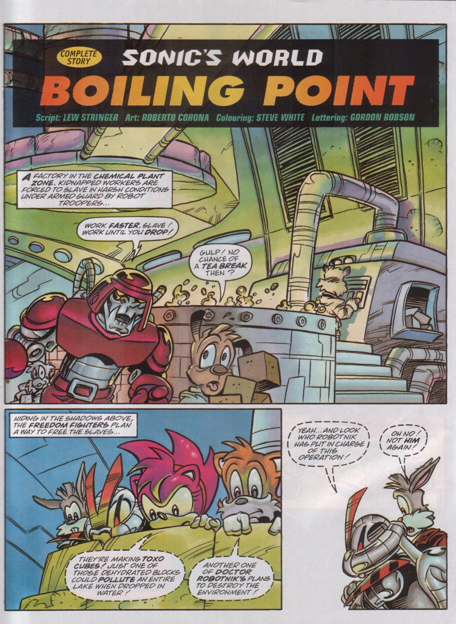 Sonic - The Comic Issue No. 097 Page 22