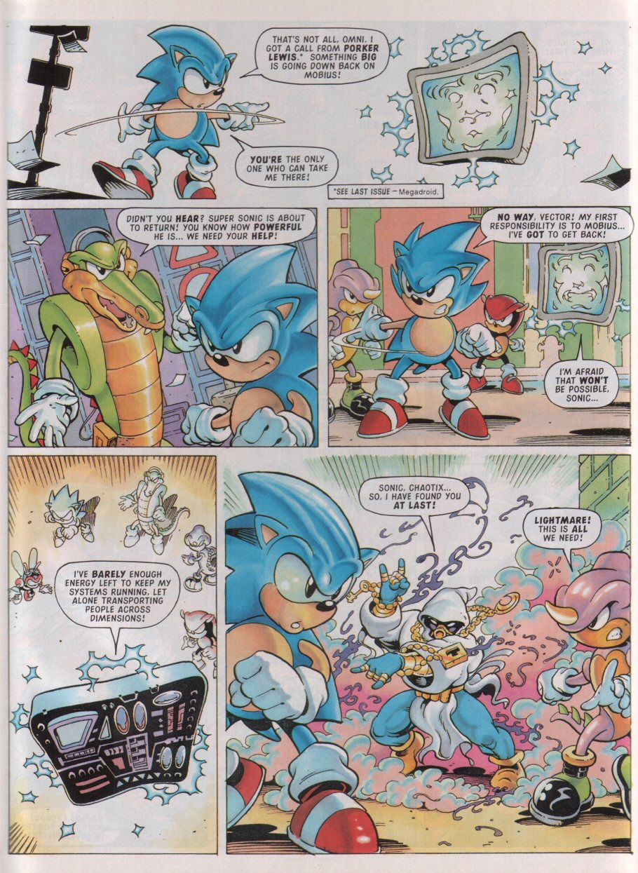 Sonic - The Comic Issue No. 098 Page 4