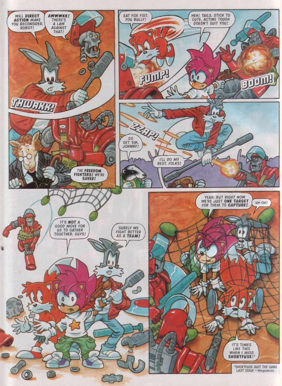 Sonic - The Comic Issue No. 098 Page 23