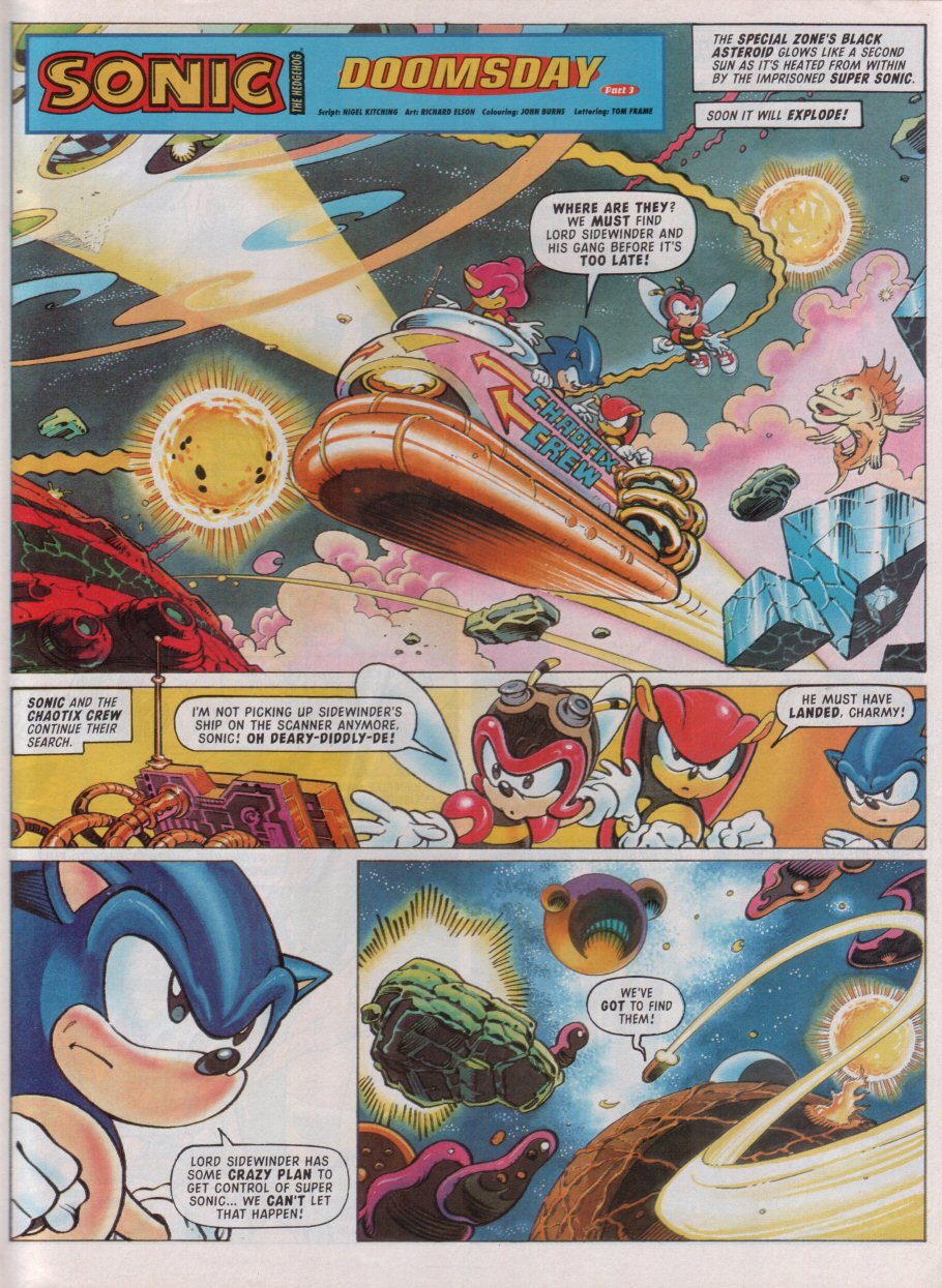 Sonic - The Comic Issue No. 099 Page 2