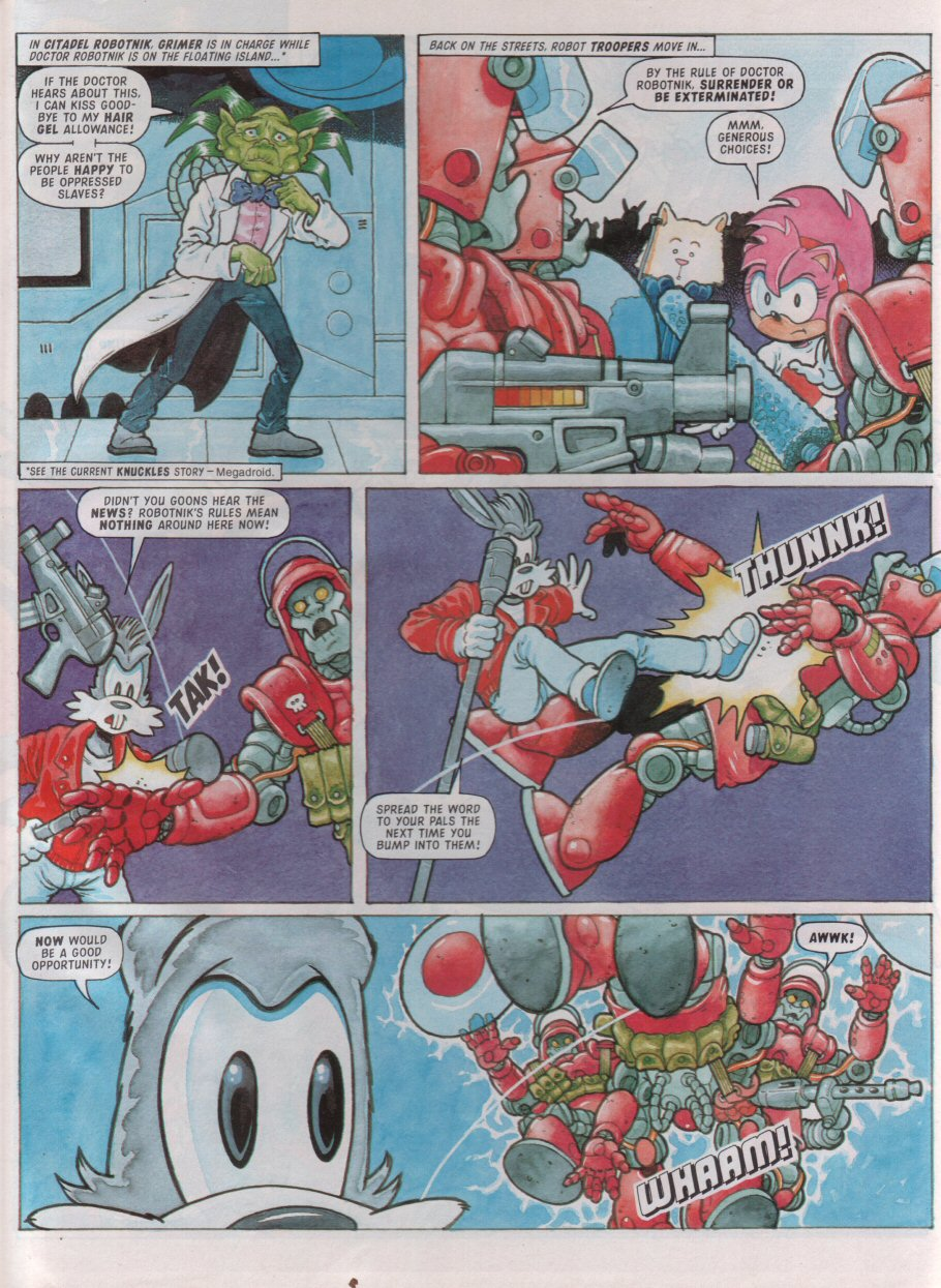 Sonic - The Comic Issue No. 099 Page 22