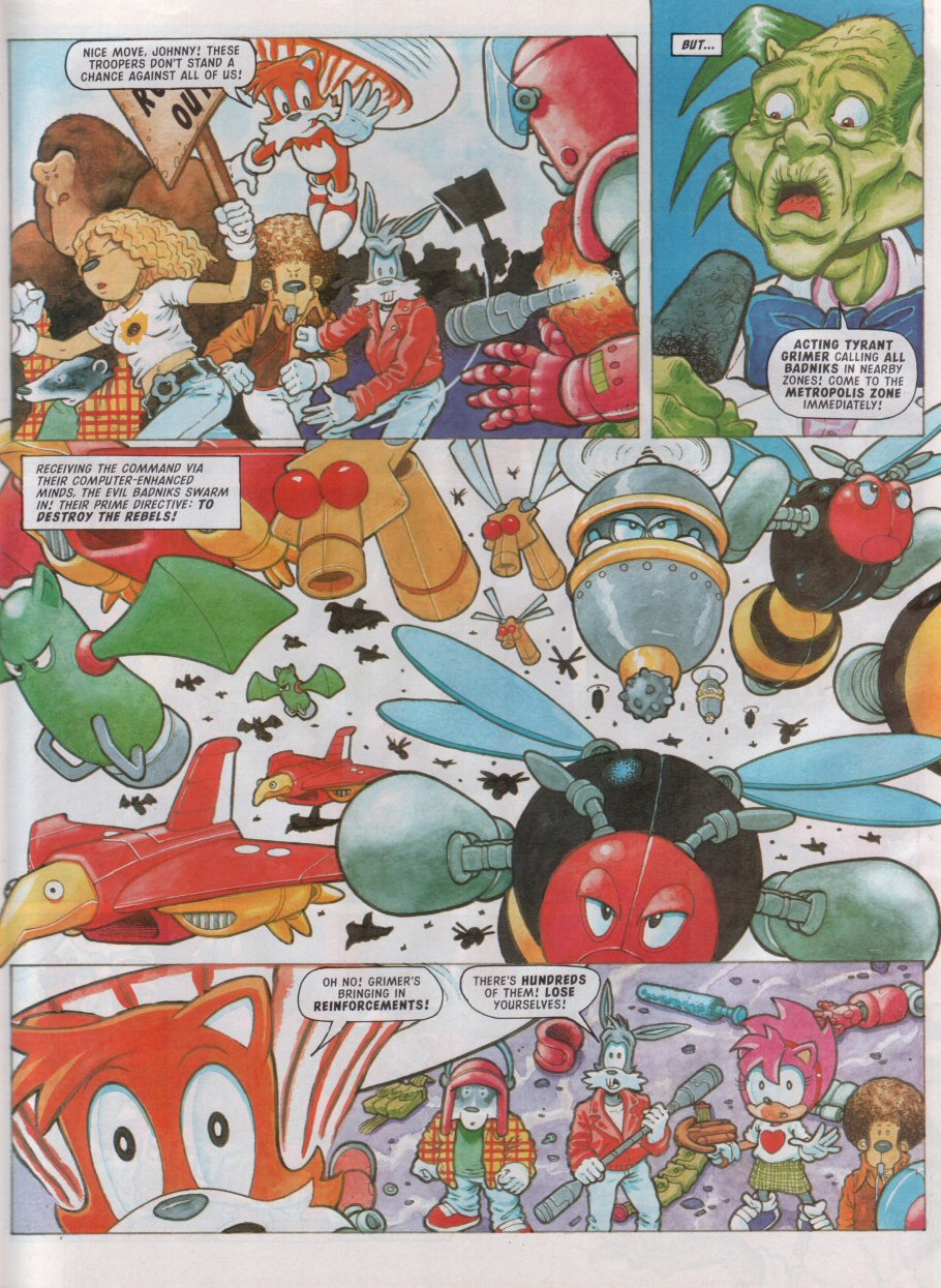 Sonic - The Comic Issue No. 099 Page 23