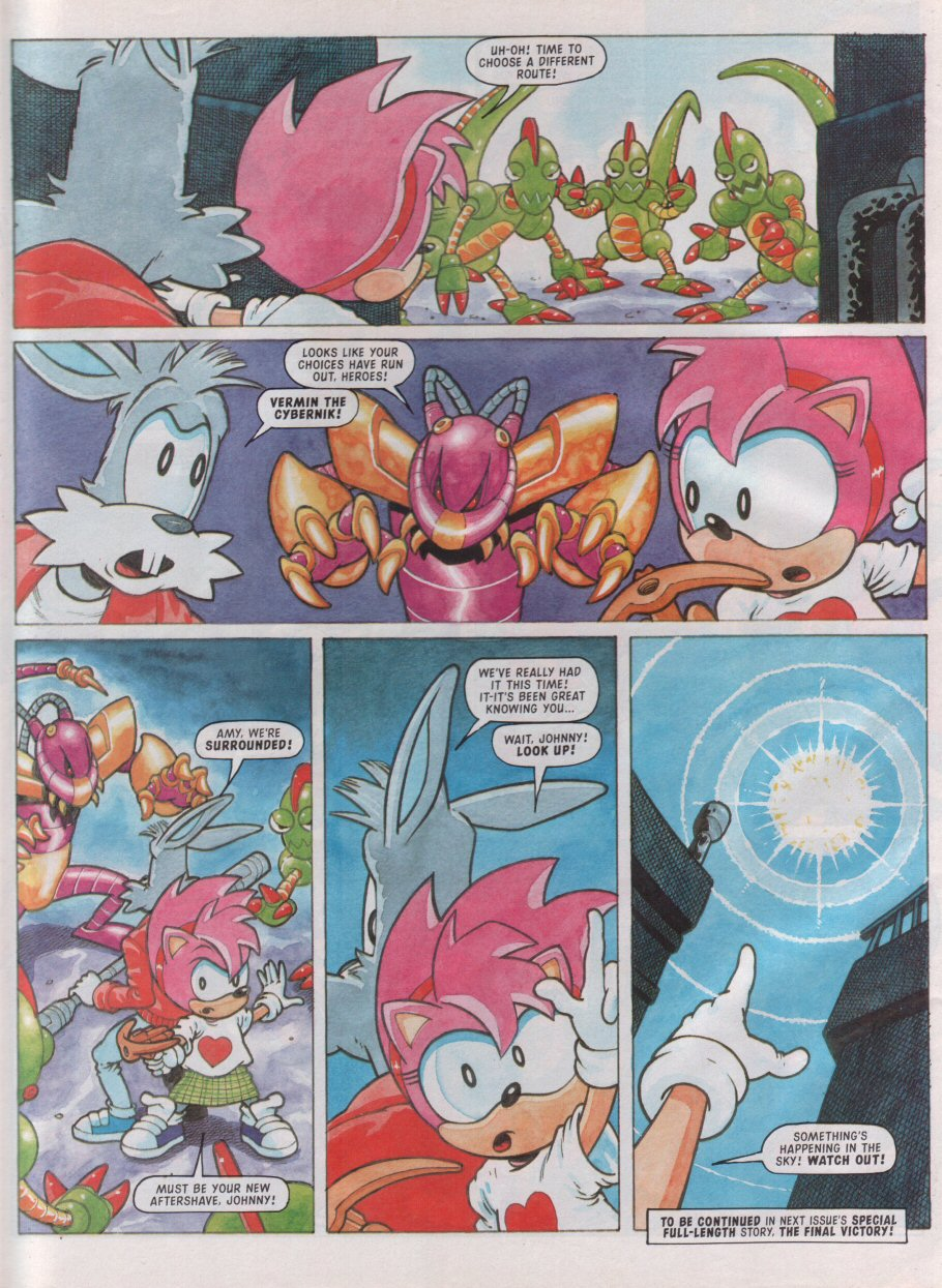 Sonic - The Comic Issue No. 099 Page 25