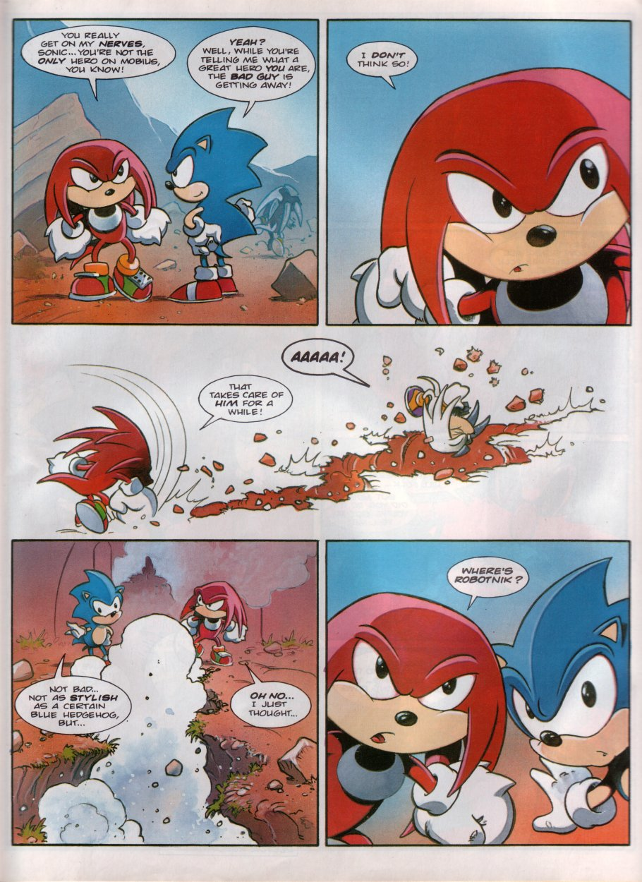 Sonic - The Comic Issue No. 100 Page 12