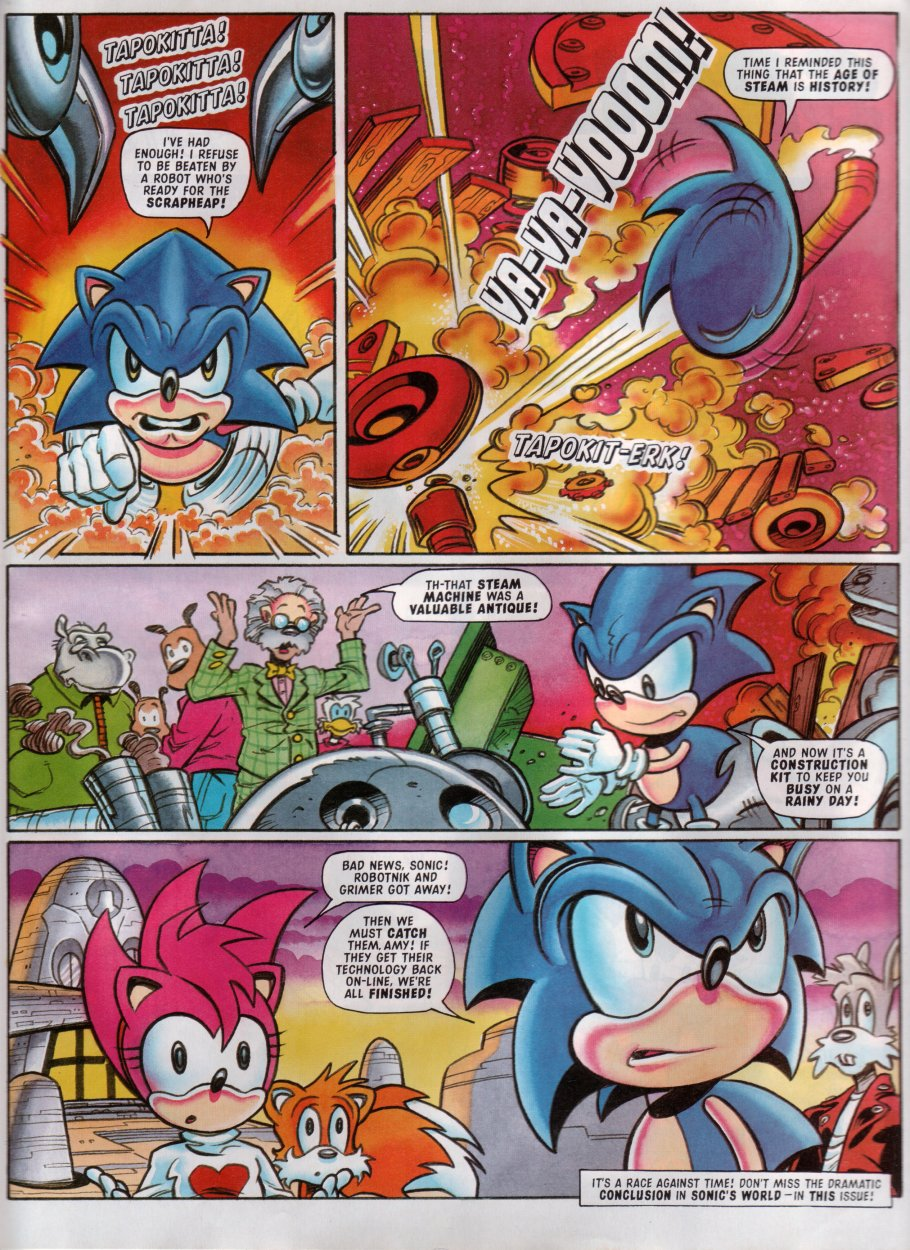 Sonic - The Comic Issue No. 100 Page 18