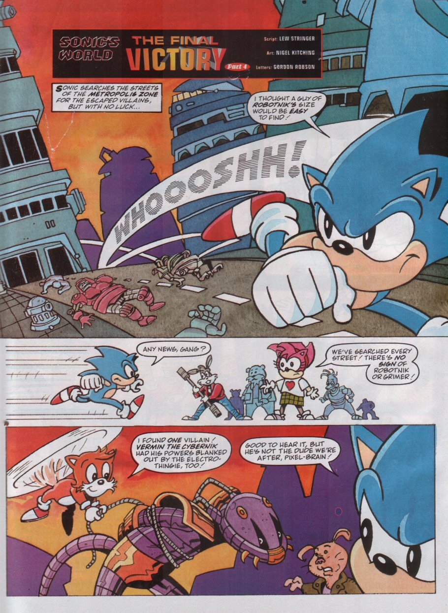 Sonic - The Comic Issue No. 100 Page 21