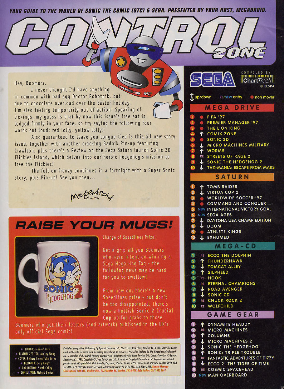 Sonic - The Comic Issue No. 101 Page 1