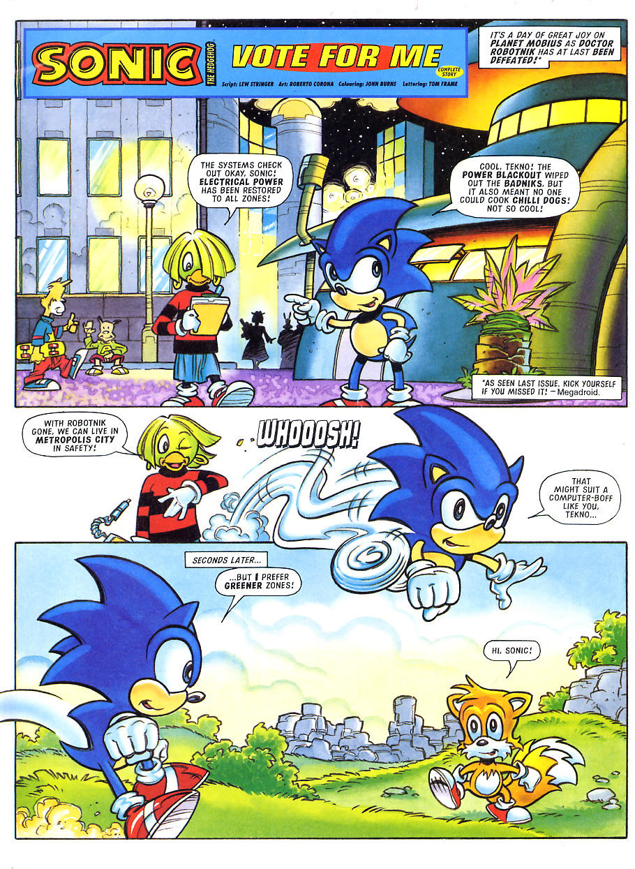 Sonic - The Comic Issue No. 101 Page 2