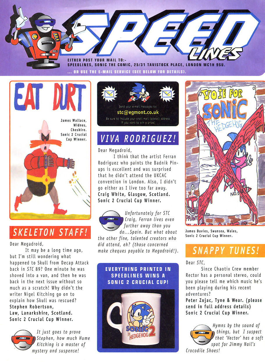 Sonic - The Comic Issue No. 101 Page 25