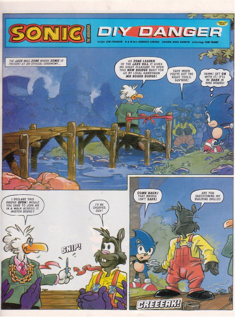 Sonic - The Comic Issue No. 103 Page 2