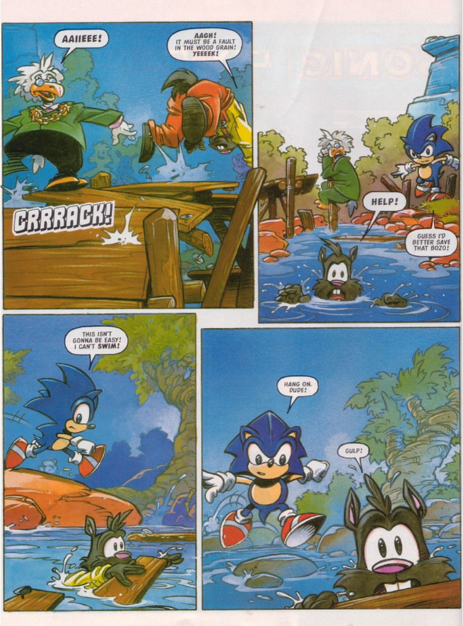 Sonic - The Comic Issue No. 103 Page 3