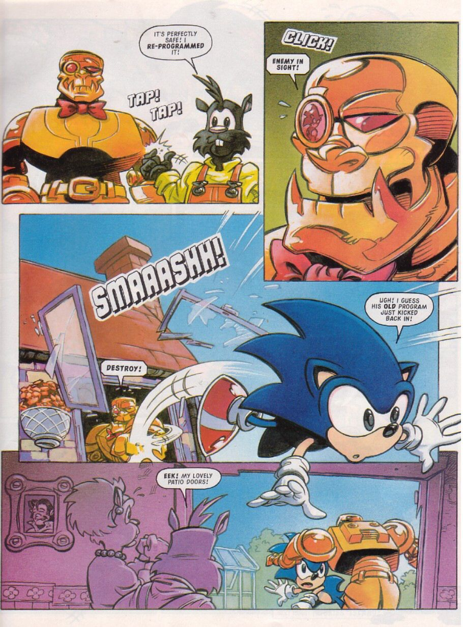Sonic - The Comic Issue No. 103 Page 6