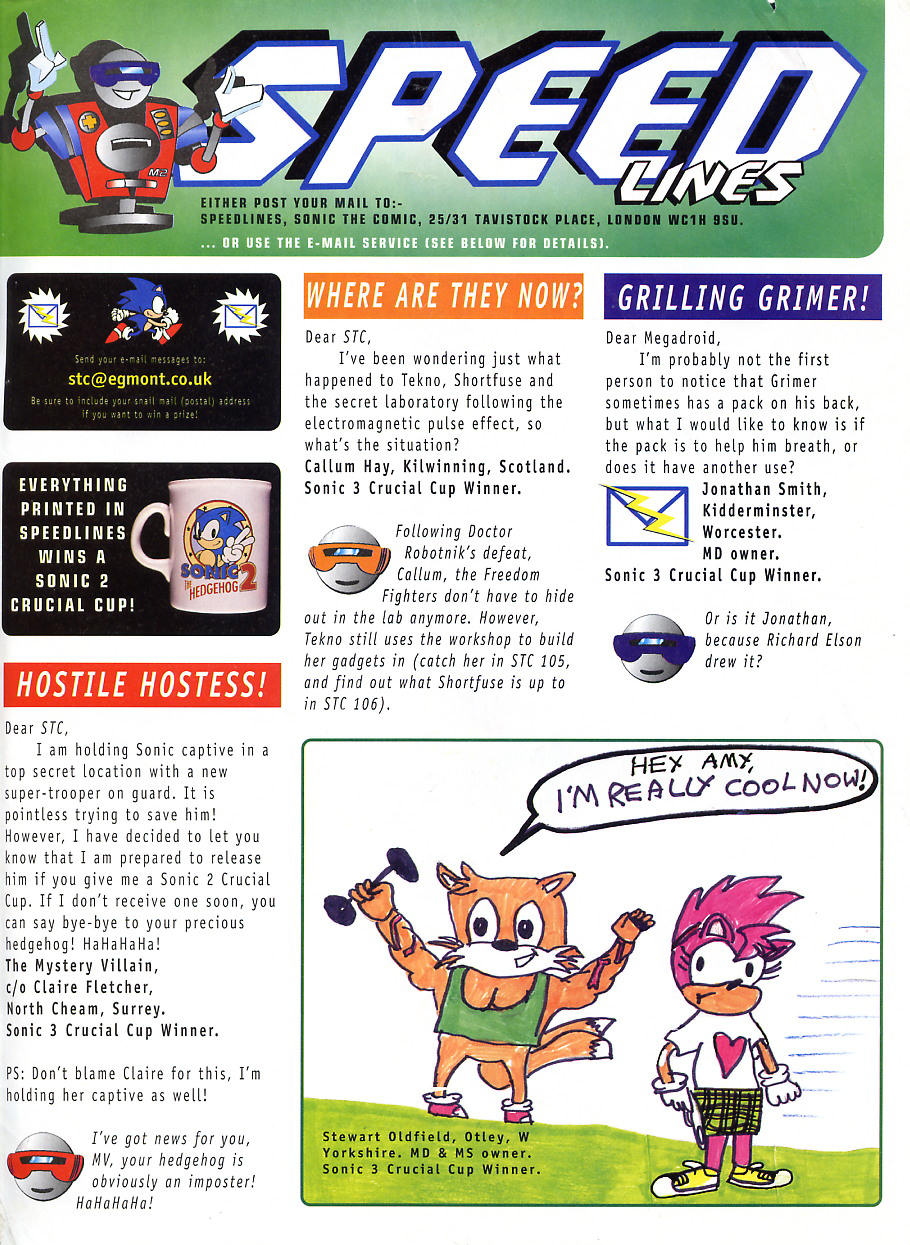 Sonic - The Comic Issue No. 104 Page 27
