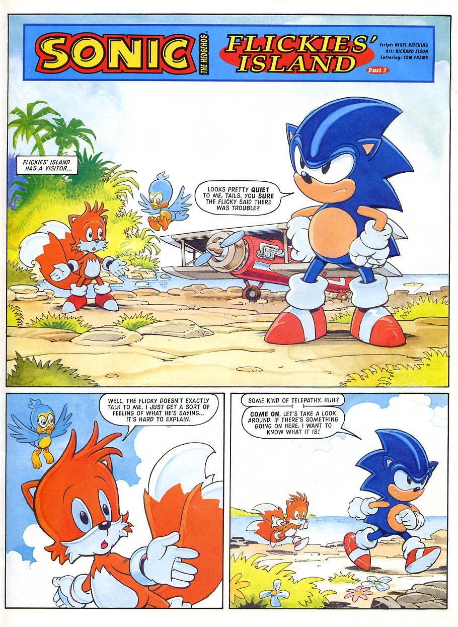 Sonic - The Comic Issue No. 105 Page 2